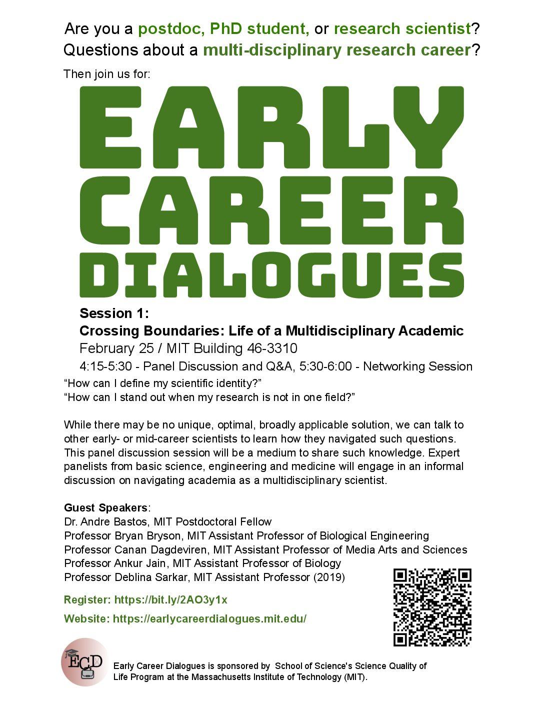 Crossing Boundaries: Life of a Multidisciplinary Academic